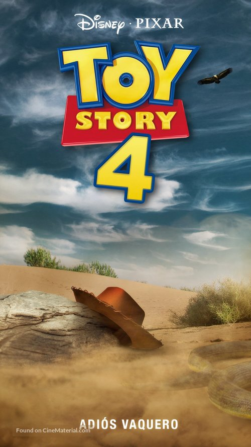Toy Story 4 Mexican Movie Poster