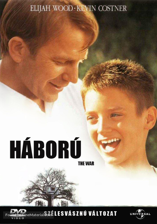 The War - Hungarian DVD cover