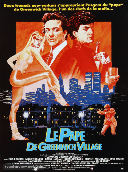 The Pope of Greenwich Village - French Movie Poster