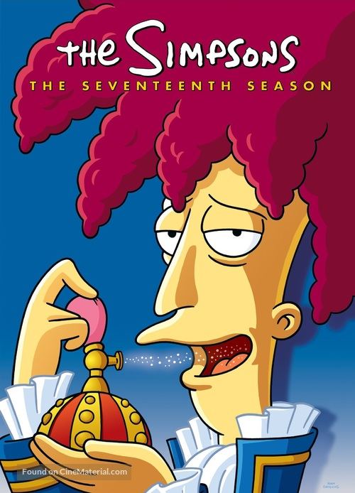 """""""The Simpsons"""" - Movie Cover"""