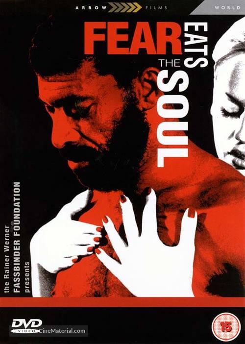 Angst essen Seele auf - British DVD movie cover