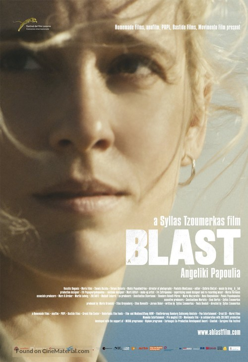 A Blast - Greek Movie Poster