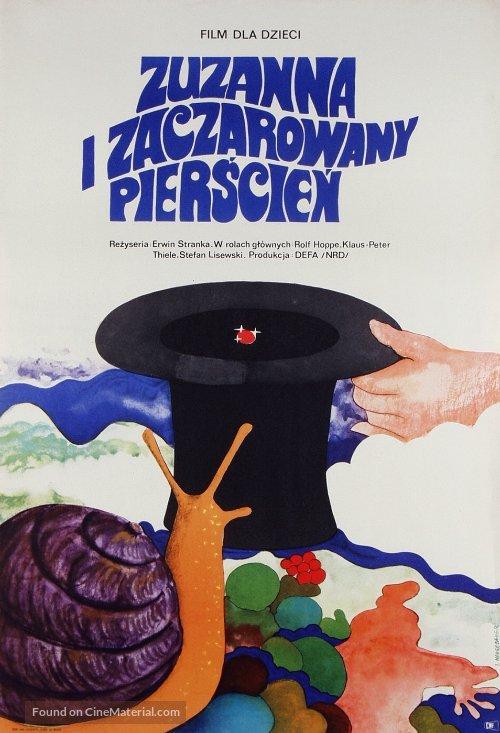 Susanne und der Zauberring - Polish Movie Poster