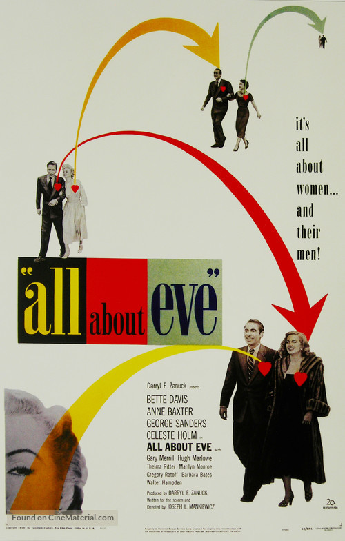 All About Eve - Movie Poster