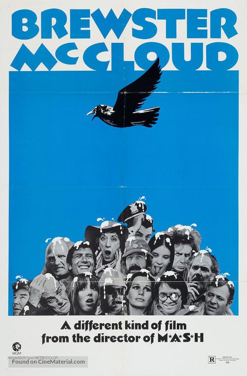 Brewster McCloud - Movie Poster