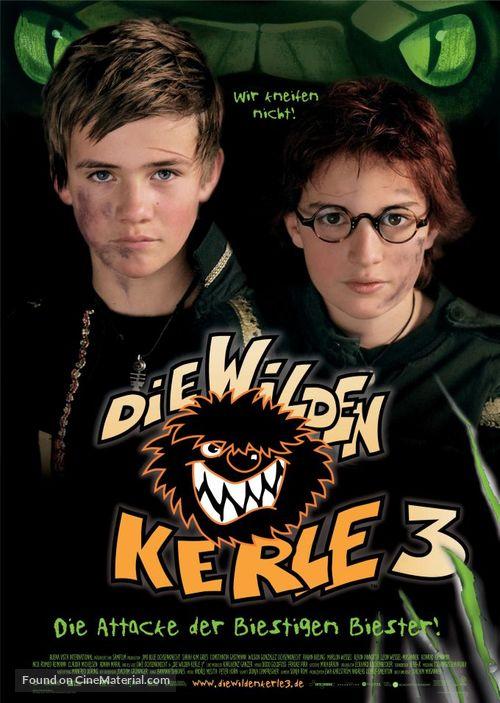 Die wilden Kerle 3 - German poster