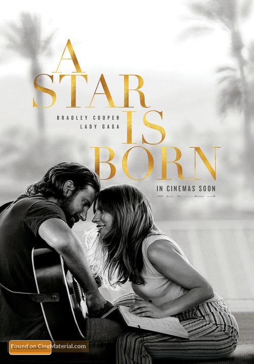 A Star Is Born - Australian Movie Poster