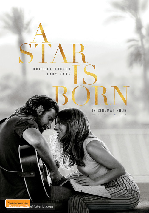 A Star Is Born - Australian Movie Poster