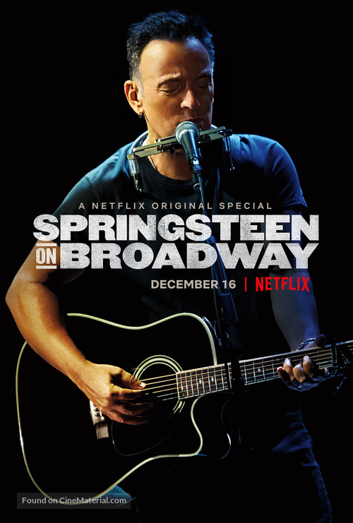 Springsteen on Broadway - Movie Poster
