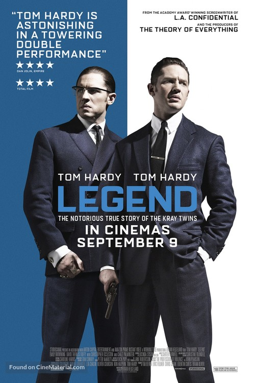 Legend - British Movie Poster