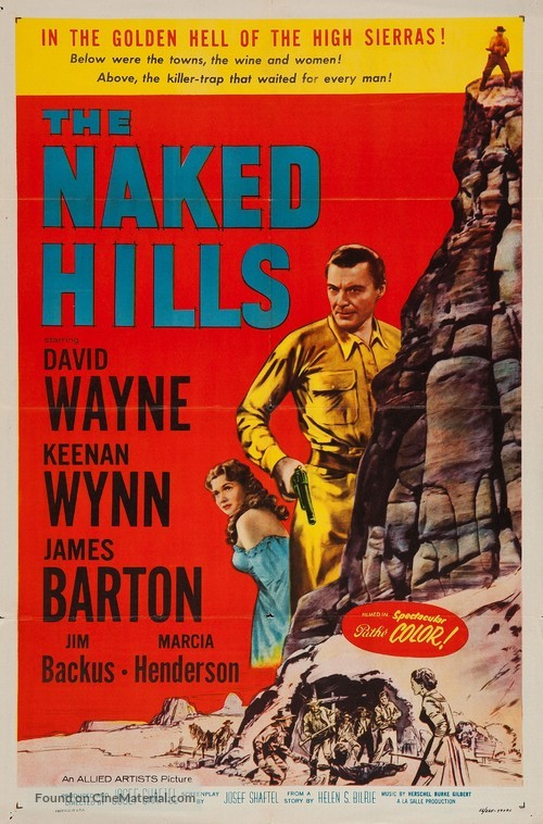 The Naked Hills - Movie Poster