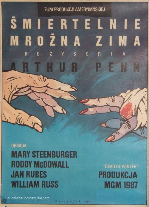 Dead of Winter - Polish Movie Poster