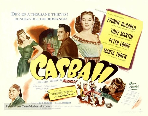 Casbah - Movie Poster