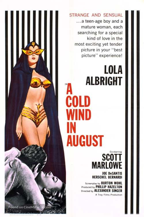 A Cold Wind in August - Movie Poster