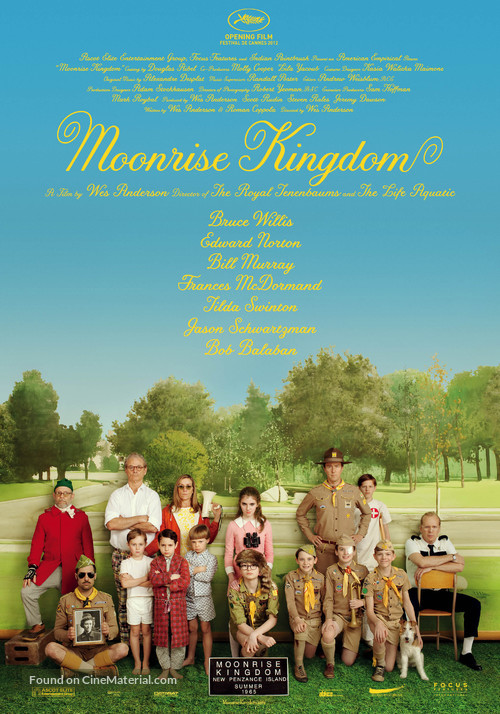 Moonrise Kingdom - Swiss Movie Poster