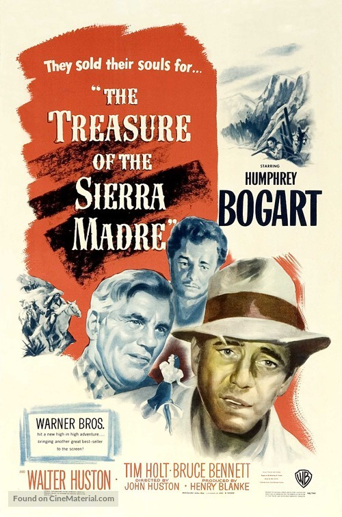 The Treasure of the Sierra Madre - Movie Poster