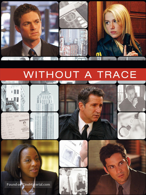"""""""Without a Trace"""" - DVD cover"""