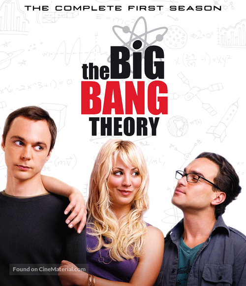 """The Big Bang Theory"" - Blu-Ray cover"