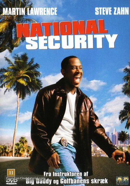 National Security - Danish Movie Cover