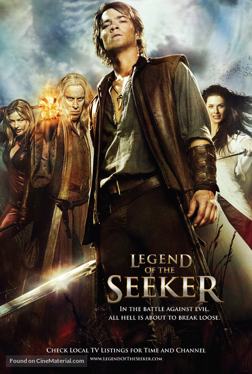"""""""Legend of the Seeker"""" - Movie Poster"""