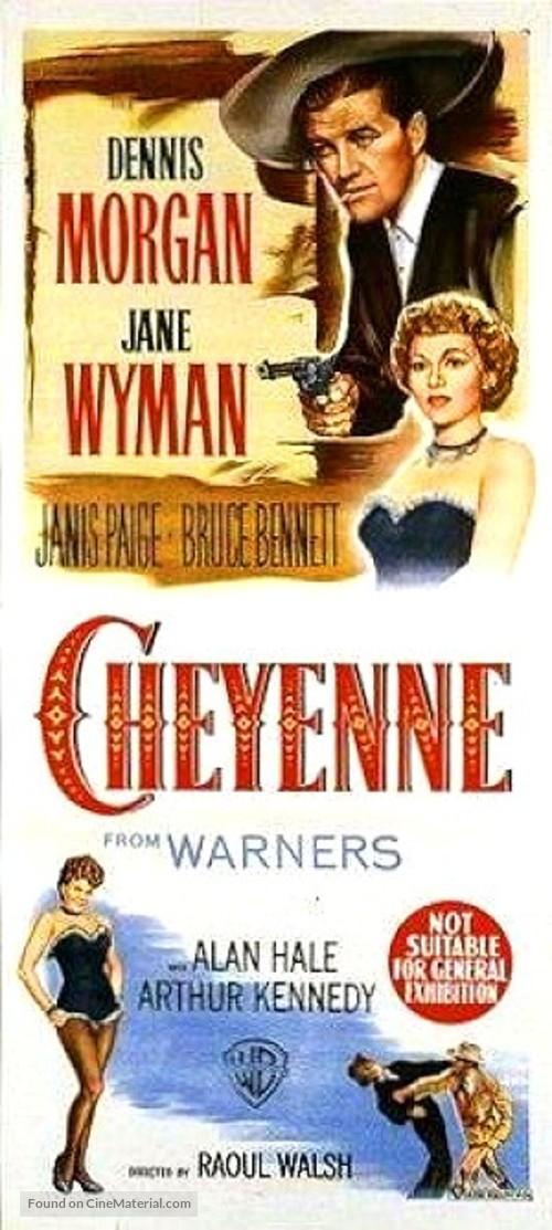 Cheyenne - Australian Movie Poster