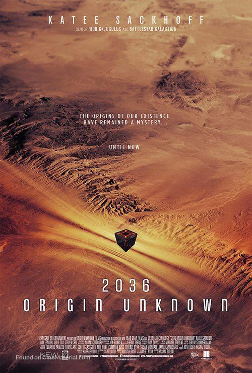 Resultado de imagem para 2036 Origin Unknown poster