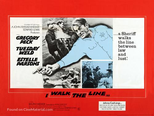 I Walk the Line - British Movie Poster