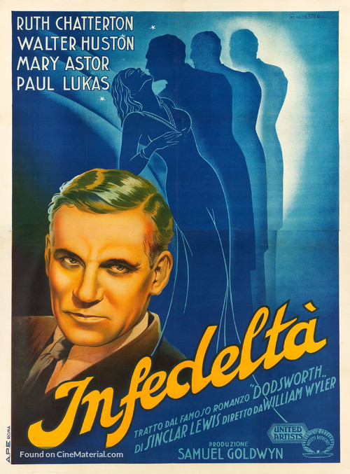 Dodsworth - Italian Movie Poster