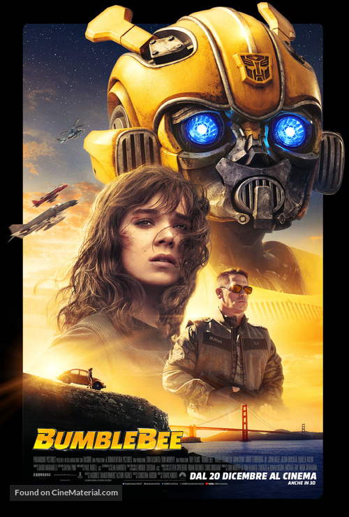 Bumblebee - Italian Movie Poster