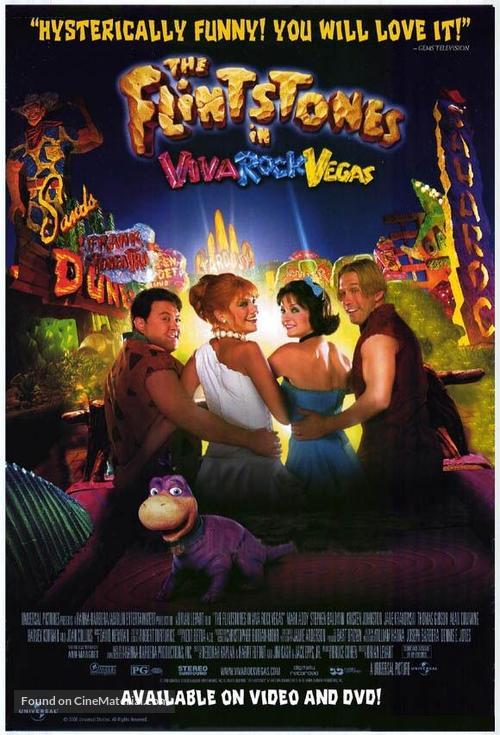The Flintstones in Viva Rock Vegas - Movie Poster