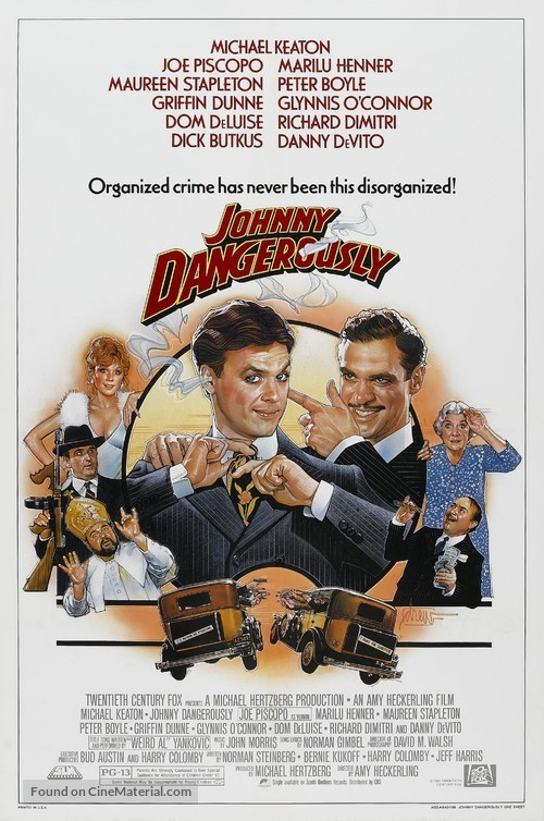 Johnny Dangerously - Movie Poster