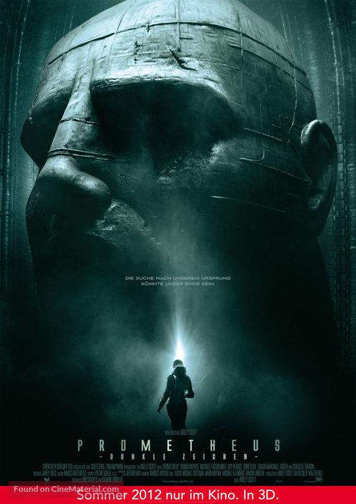 Prometheus - German Movie Poster