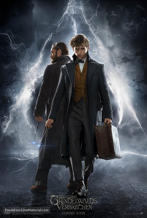 Fantastic Beasts: The Crimes of Grindelwald - German Movie Poster