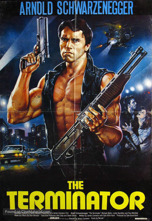 The Terminator - Libyan Movie Poster