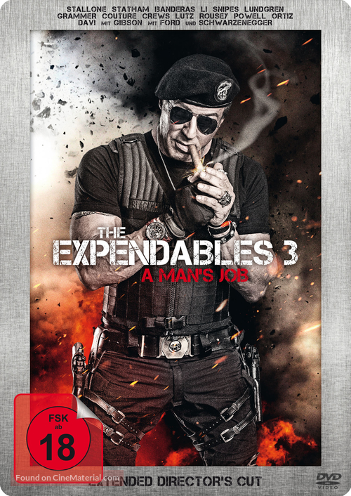The Expendables 3 - German DVD movie cover