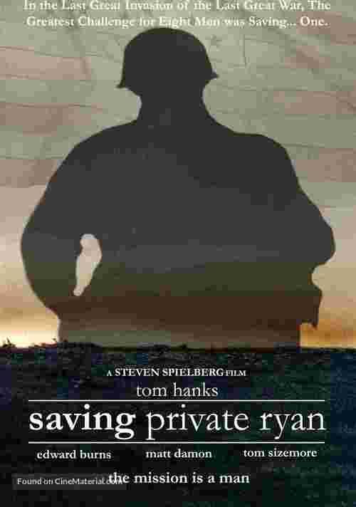 Saving Private Ryan - Movie Poster