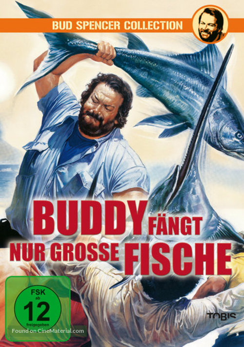 Piedone lo sbirro - German DVD cover