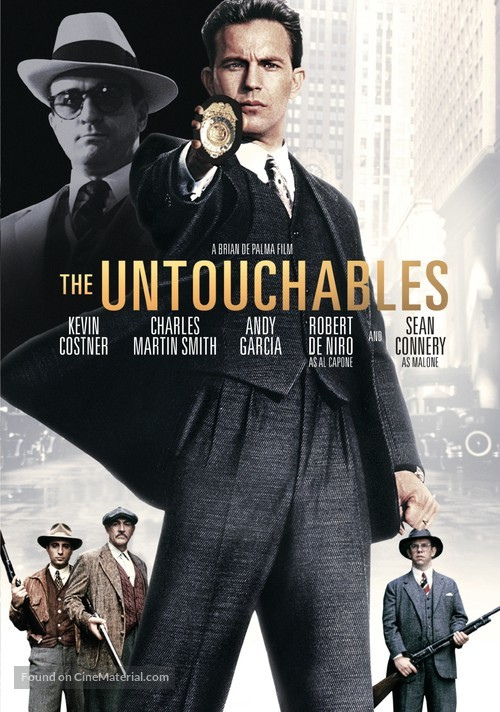 The Untouchables - DVD cover