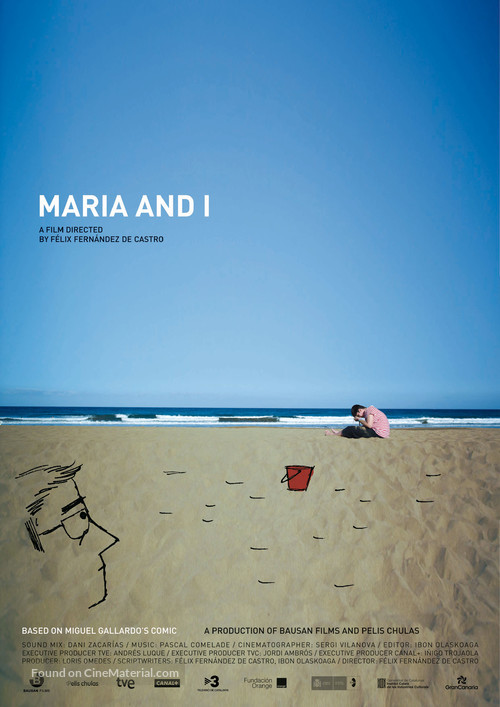 María y yo - British Movie Poster