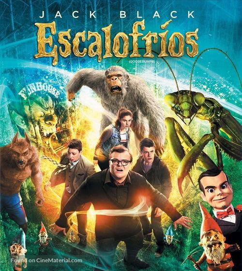 Goosebumps - Mexican Movie Cover