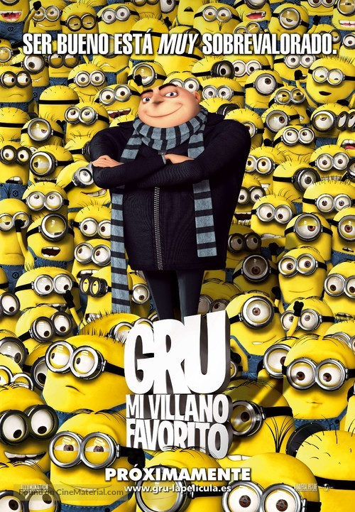Despicable Me - Spanish Movie Poster