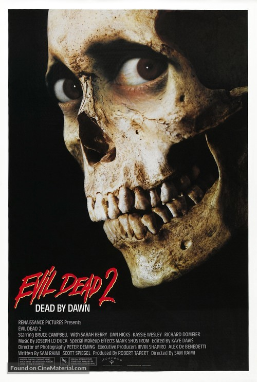 Evil Dead II - Movie Poster
