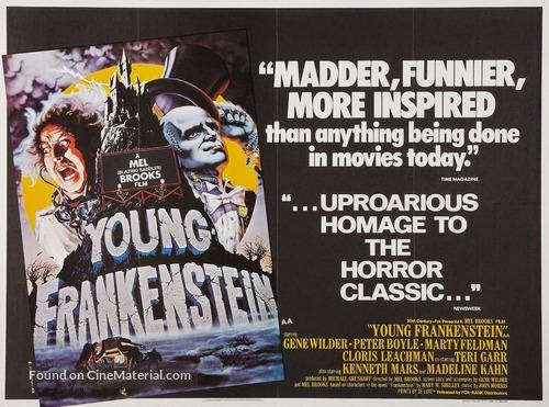 Young Frankenstein - British Movie Poster