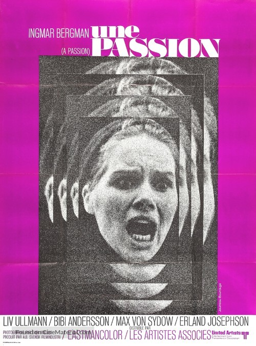 En passion - French Movie Poster