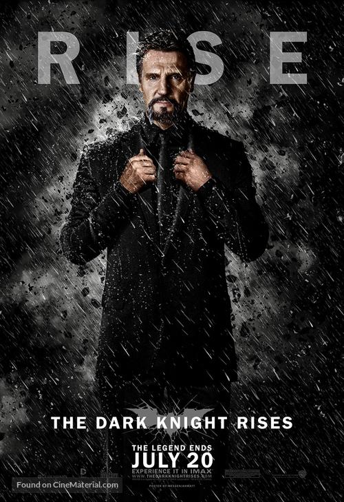 The Dark Knight Rises - poster