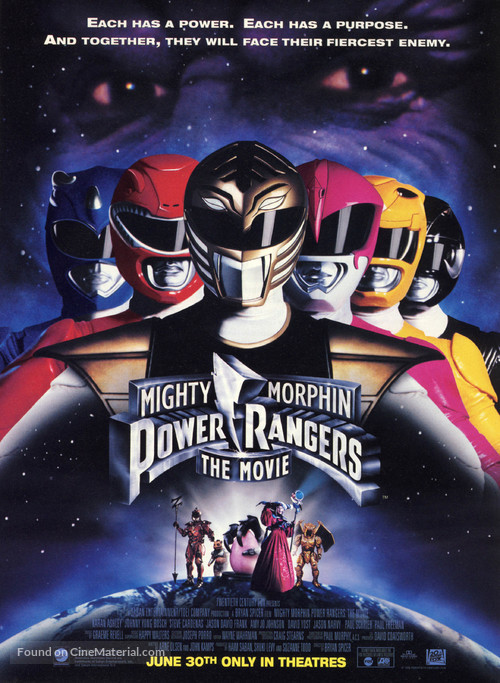 Mighty Morphin Power Rangers: The Movie - Movie Poster