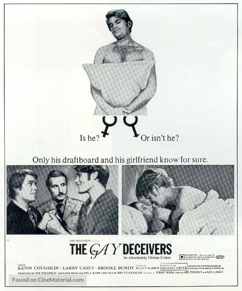 The Gay Deceivers - Movie Poster