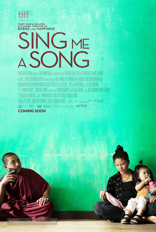 Sing me a Song - Movie Poster