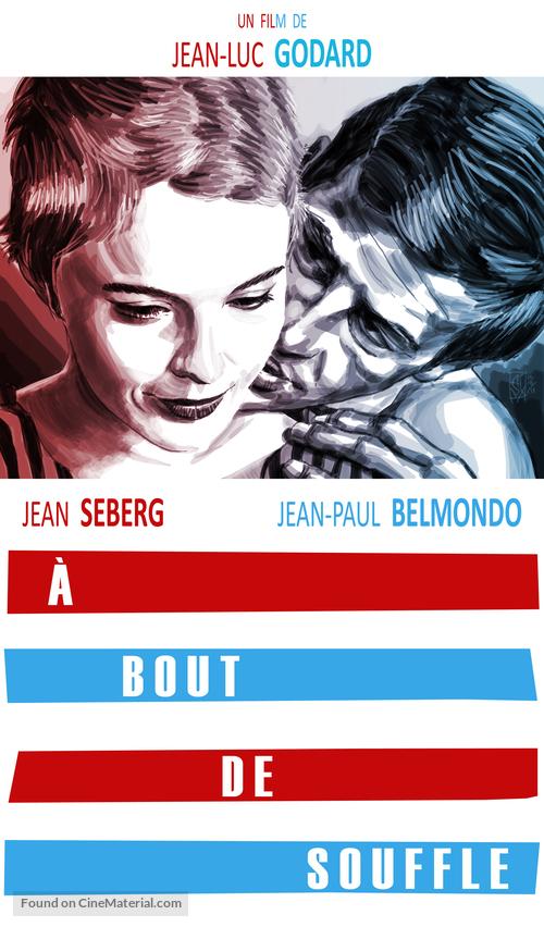 À bout de souffle - French Movie Cover