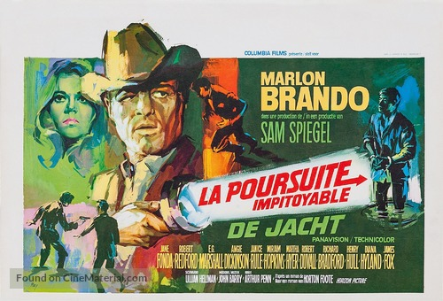 The Chase - Belgian Movie Poster